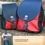 Large Pirate Pouch