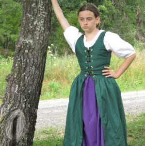Child Irish Dress